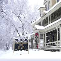Winter in The Berkshires, Great Barrington, Wainwright Inn B&B