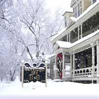 Winter in The Berkshires, Great Barrington, Wainwright Inn B&B